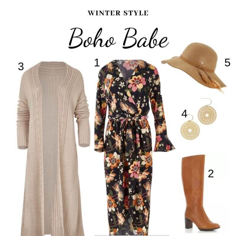 Boho Babe - winter style