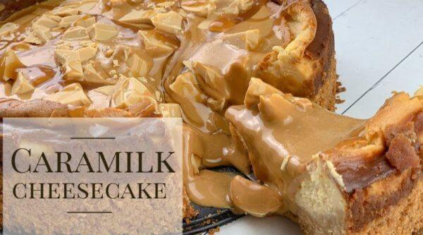 Cadbury Caramilk Cheesecake recipe