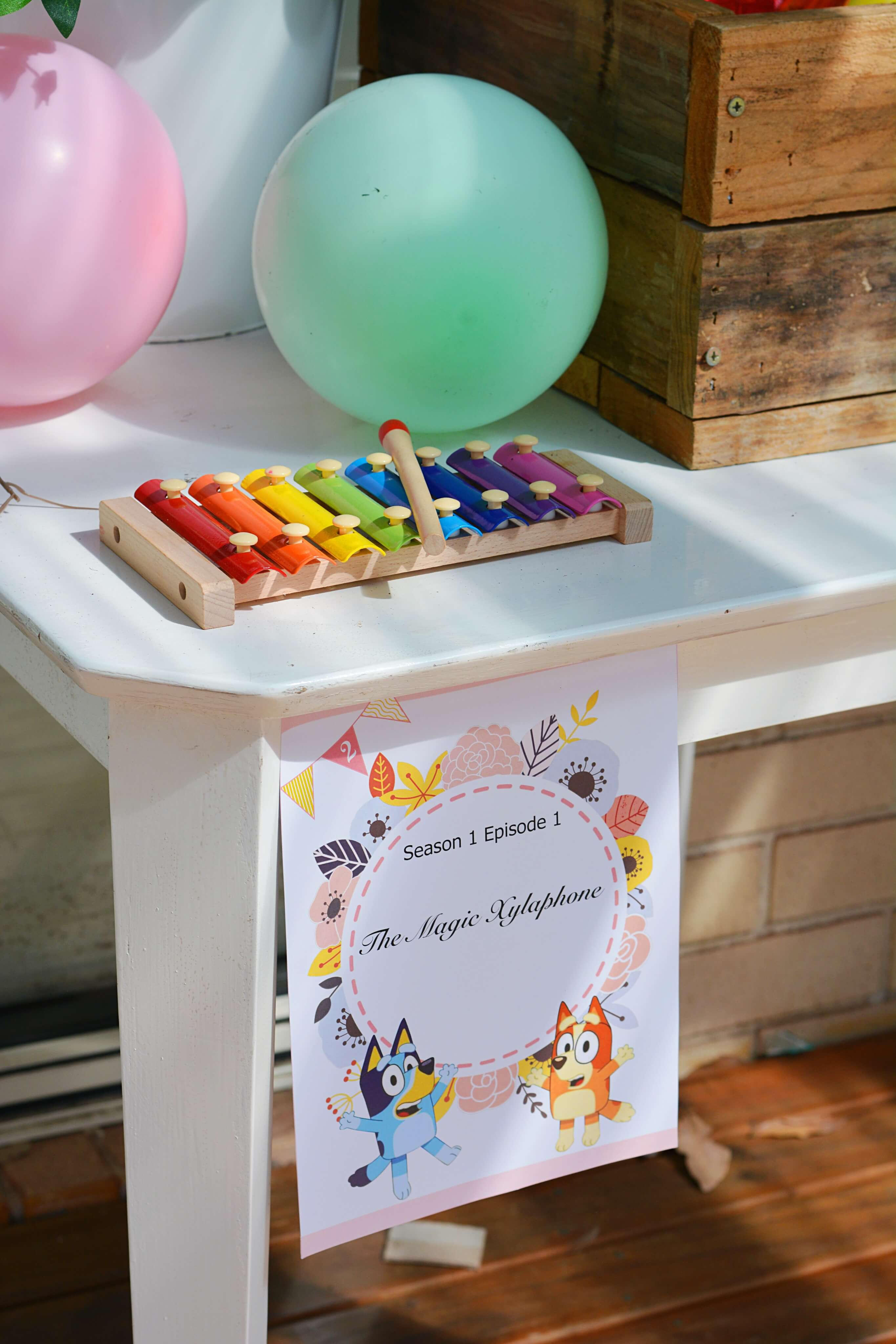 Kids Party Ideas Bluey Party