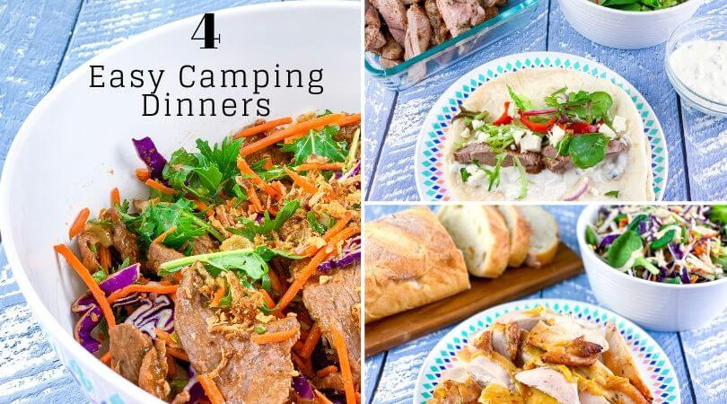 Easy Camping Dinners
