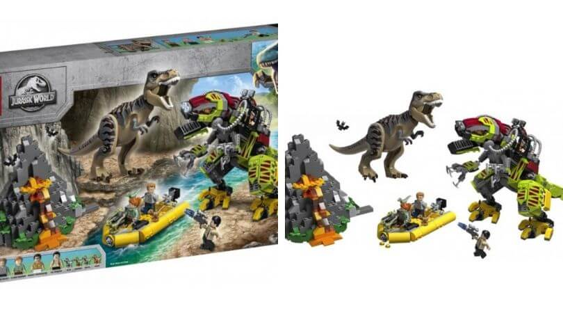 Jurassic Park lego hottest toys for Christmas