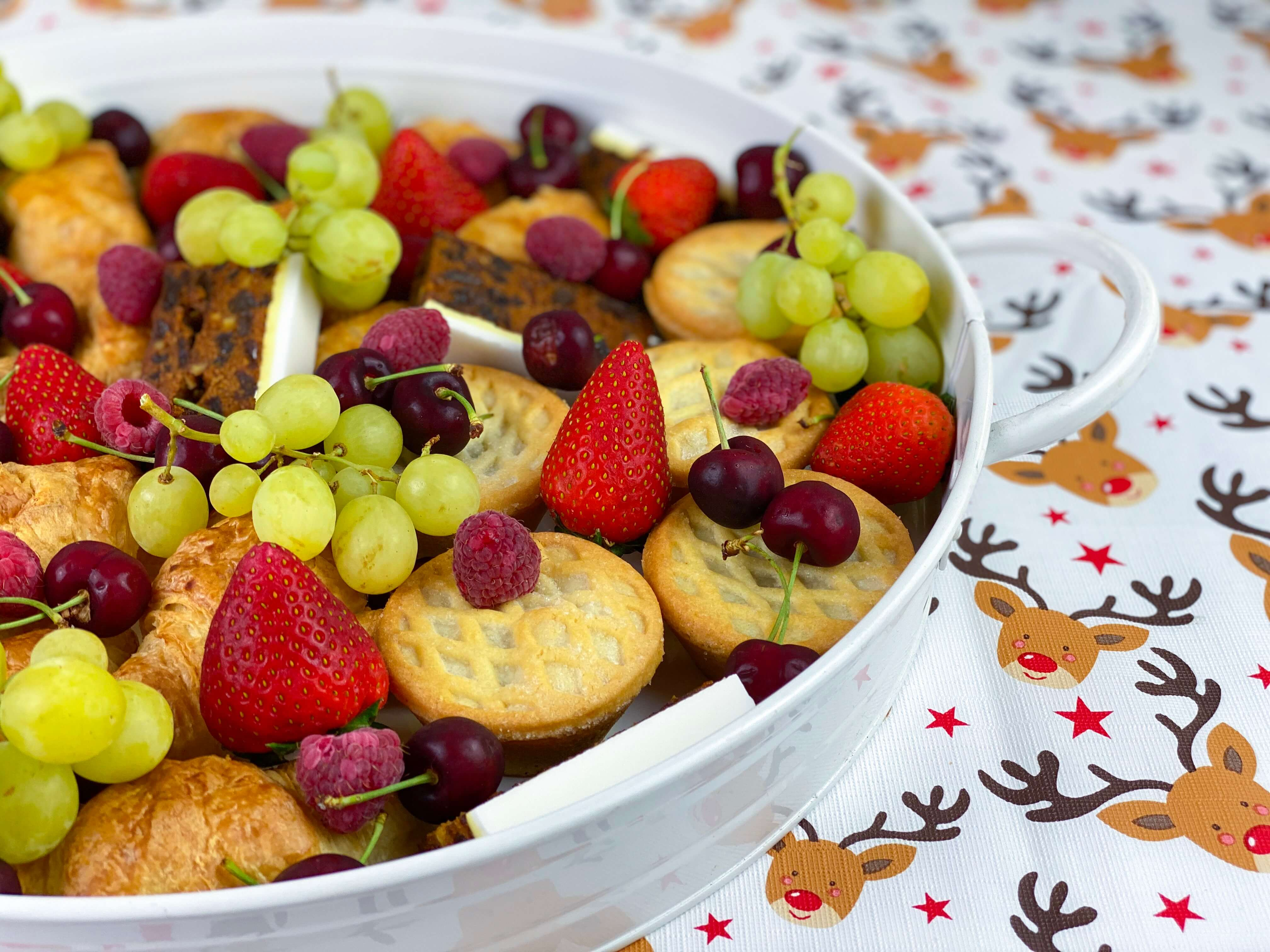 Christmas breakfast ideas - breakfast platter