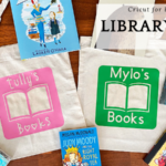 Cricut for Beginners – Library Bags