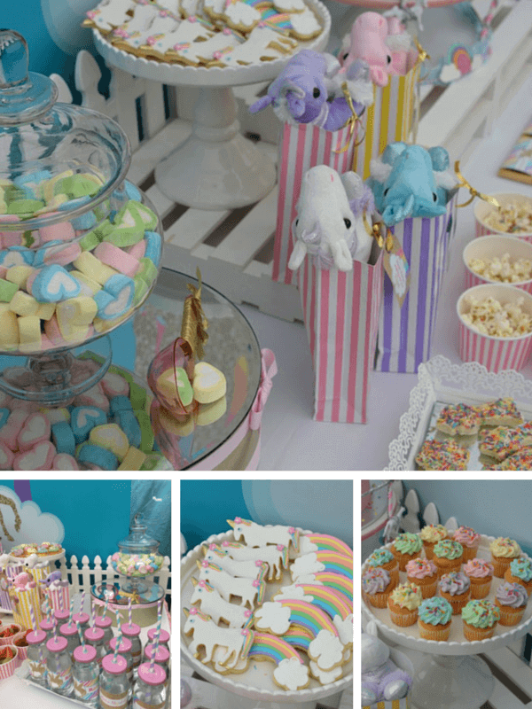 Unicorn party- kids parties on a budget