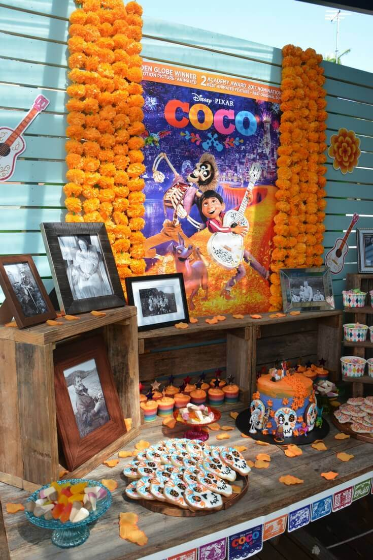 Kids party on a budget - coco party