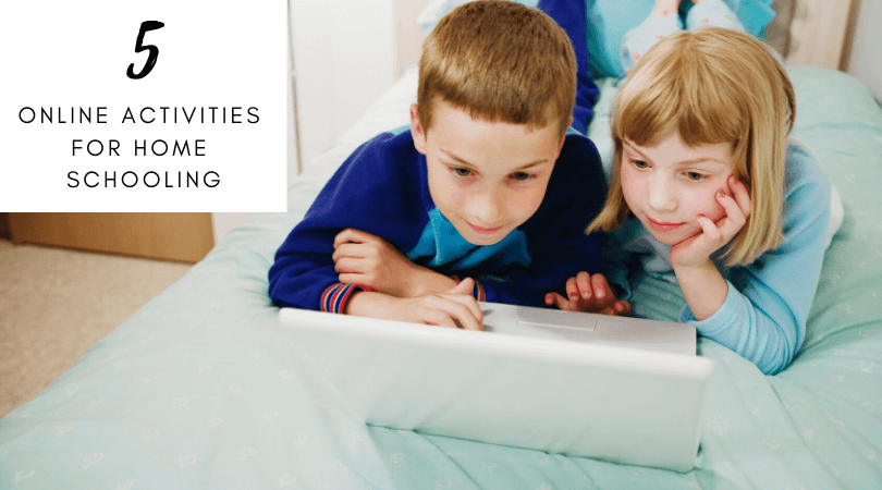 online activities for home schooling