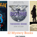 22 mystery novels for tweens