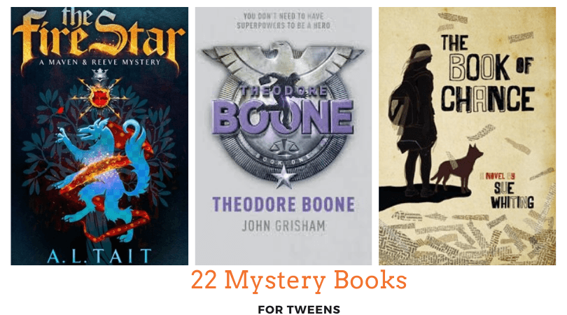22 Mystery Books for tweens