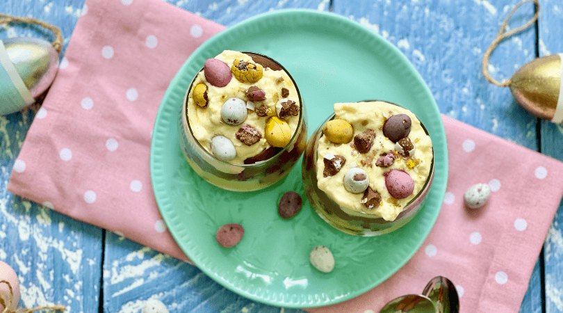 Chocolate Lover's Easter Parfait Recipe