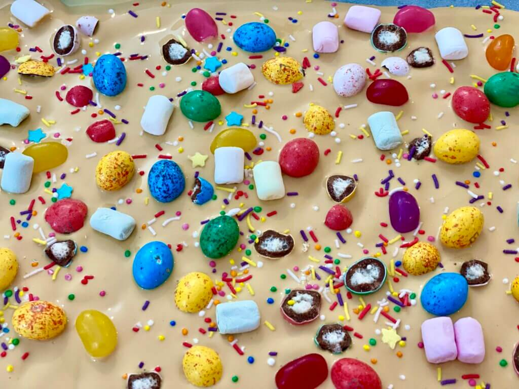 caramilk Easter Bark