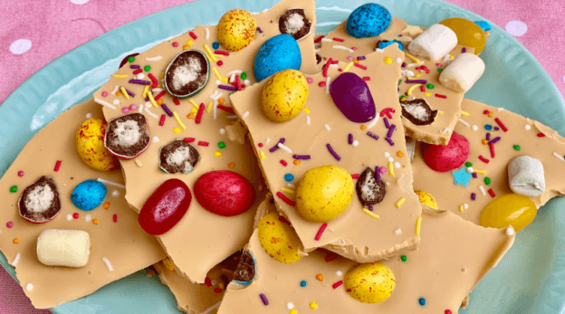 caramilk Easter Bark