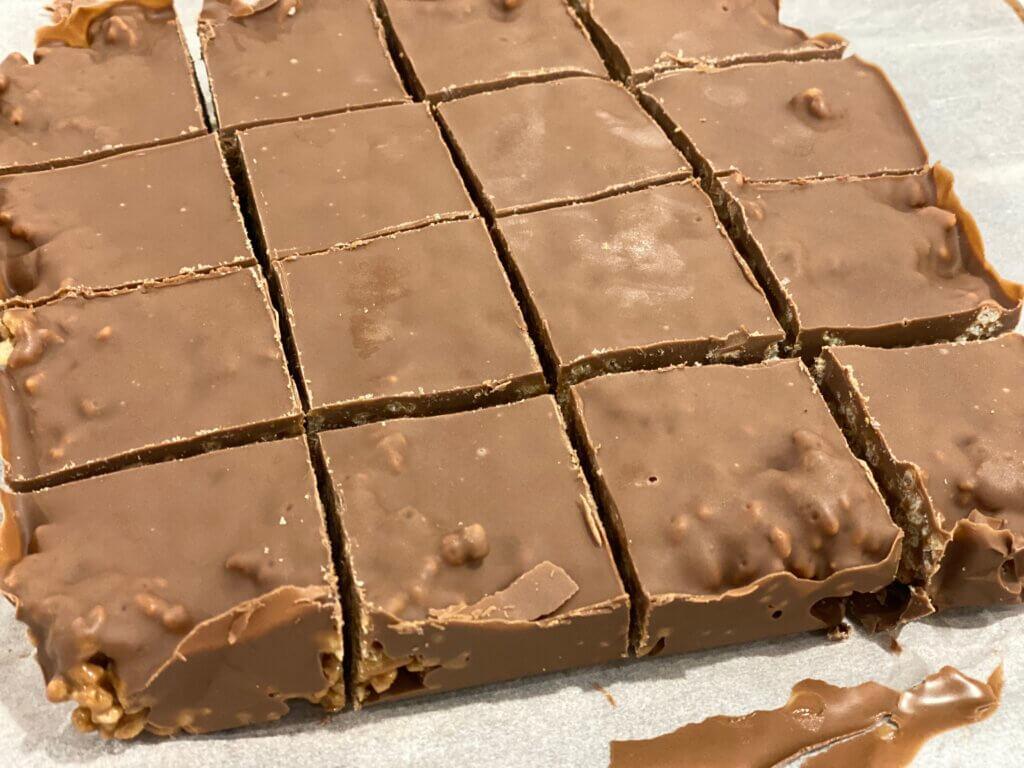 Mars Bar Slice Recipe